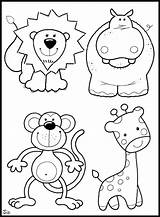 Coloring Zoo Animals Preschool Colouring Animal Sheets Australian Printable Preschoolers Sheet Worksheets Letter Elementary Money sketch template