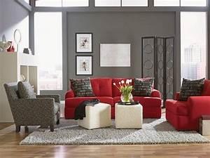 Stunning Red Sofa Living Room Ideas Gallery