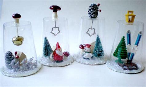 Bicchieri Decorati Per Natale by Decorazioni Natalizie Con Bicchieri Di Plastica Unadonna