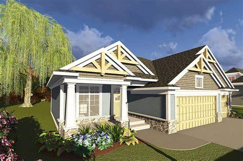 bed craftsman ranch  open concept floor plan ah architectural designs house plans