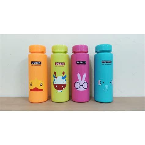 my bottle infused water doff animal my bottlle animal botol animal 500ml shopee indonesia