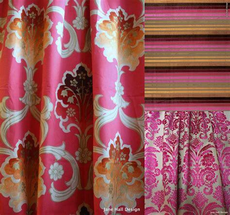 designers guild fabrics rasterelli pink and etsy