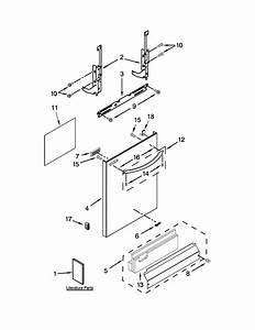 Door And Panel Parts Diagram  U0026 Parts List For Model