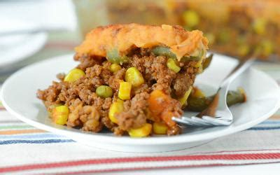 Protein Packed Sweet Potato Shepherds Pie | Healthy ...