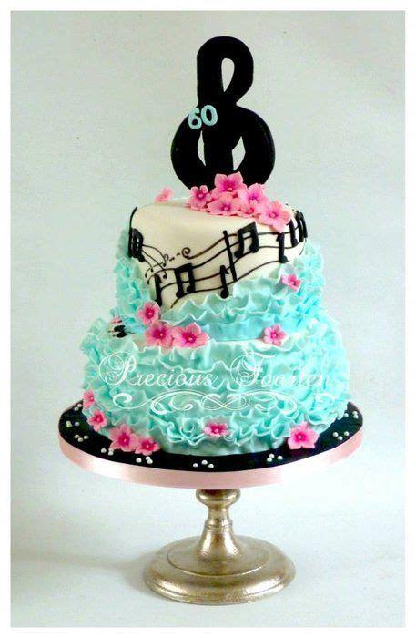 bolos decorados musica