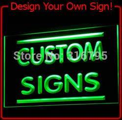 tm Sign Design Your Own LED Light Sign Custom Neon LED