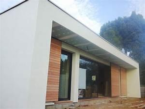 Ossature Bois Maison : maison ossature bois montpellier boiseco construction ~ Melissatoandfro.com Idées de Décoration
