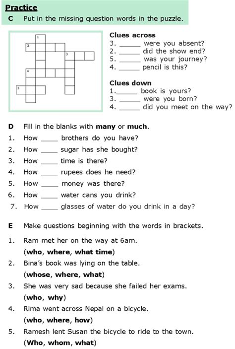 grade 6 grammar lesson 8 questions 3 english worksheets grammar lessons grammar 6th