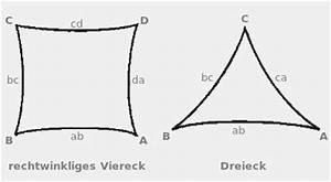 Sonnensegel Rechtwinkliges Dreieck : sonnensegel nach ma nach ihrem wunsch pina design ~ Markanthonyermac.com Haus und Dekorationen