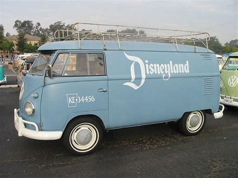 Vw Type 2 Shuttle Van As Used By Disneyland (check Out The