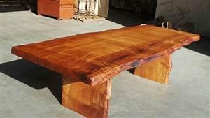 Rustic Dining Tables Live Edge Wood Slabs Redwood Burl