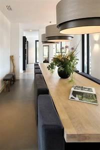 1001 idees pour amenager une chambre en longueur des for Deco cuisine avec salle a manger moderne bois clair