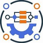 Process Icon Business Management Performance Clipart Bpm
