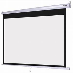 Instahibit 16 9 Retractable Manual Projection Screen 72