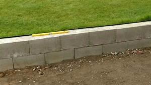 Gartenmauer Aus Schalsteinen