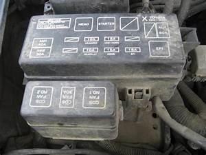 Find 94 Toyota 4 Runner Fuse Box Under Hood Engine
