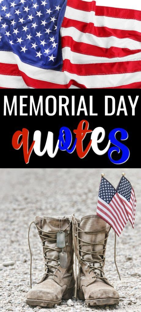 Famous Quotes and Sayings for Memorial Day on Patriotism