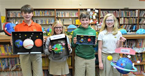 pinewood christian academy pcas grade science classes planet projects