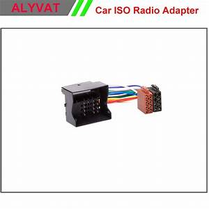 Car Iso Stereo Adapter Connector For Renault Fluence