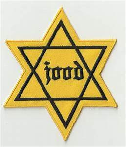 WWII WW2 German JOOD Netherlands Jewish star of David ...