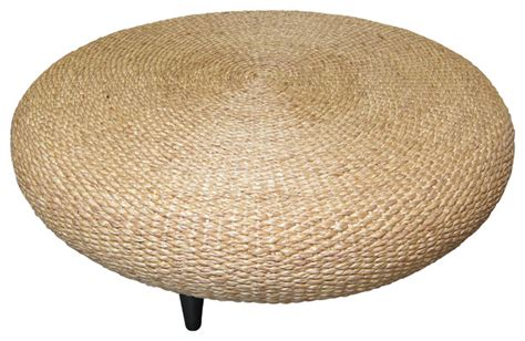 tropical round coffee table water hyacinth round coffee table tropical coffee tables