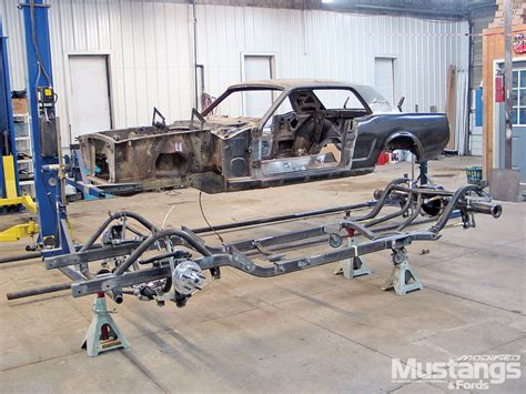 ford mustang chassis mdmp 1005 08 o modular engine rock valley customized