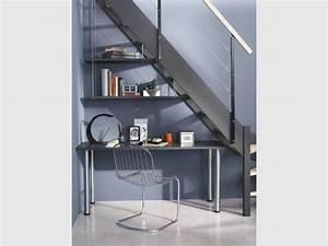 Bureau Sous Escalier : 10 solutions pour am nager l 39 espace sous l 39 escalier ~ Farleysfitness.com Idées de Décoration