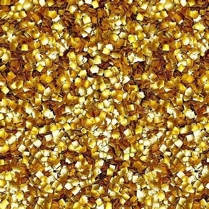 Glitter Gold Bling Metallic Edible Squares Glitters