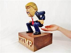 Trump Candy Dispenser - by seamster @ LumberJocks com