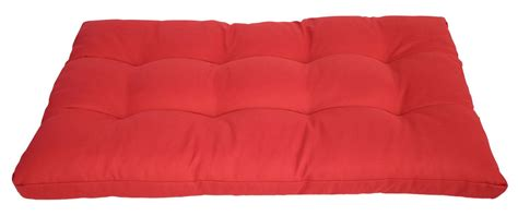coussin dassise pour salon en palette rouge magasin en ligne gonser