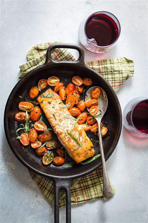 salmon seared iron skillet cast cook recipes recipe cooking pan dinner long gracious healthy fast easiest meals perfect foodnessgracious fish