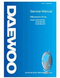 Service Manual   Daewoo Kor