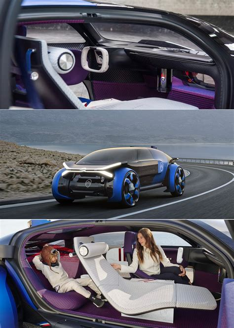Citroen 19 19 Concept by Citro 235 N 19 19 All Electric Concept Looks Out Of This World