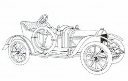 HD Wallpapers Antique Car Coloring Pages