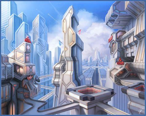 ArtStation - City, Alexey G