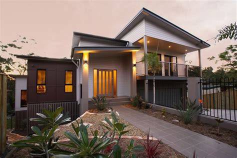 photo of sloping block designs ideas house designs brisbane sloping block home design and style