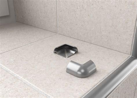 metal contract tile trim corners tileasy
