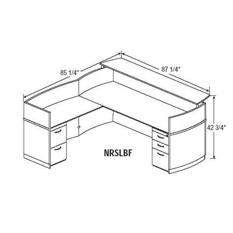 average reception desk height reception desk height dimensions desk design ideas
