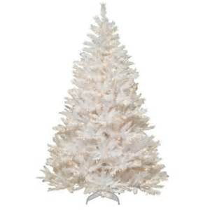 7 ft winchester white pine artificial christmas tree with clear lights