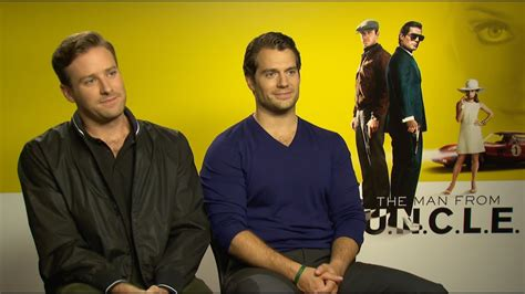 "The Man From U.n.c.l.e. Cast Plays ""would You Rather"