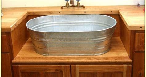 sink galvanized kitchen google search interior design pinterest bucket sink galvanized