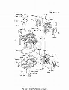 Ze 6785  Kawasaki 721v Engine Diagram