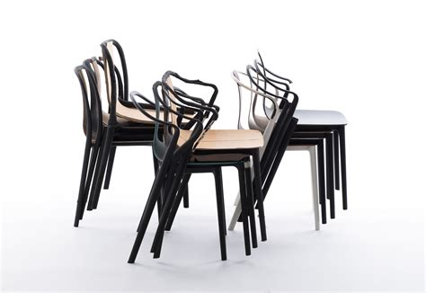 chaise bouroullec belleville chair by vitra stylepark