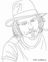 Johnny Coloring Depp Victorious Colorare Actor Ausmalen Hellokids Zum Colorear Coloriage Disegni Stampa Immagine Acteur Colouring Cast Colorir Gemerkt Adult sketch template