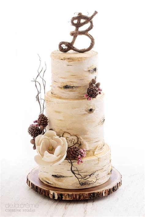 simple winter wedding ideas simple rustic winter wedding cakes ideas 08 vis wed
