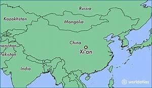 Where is Xi'an, China? / Xi'an, Shaanxi Map - WorldAtlas.com