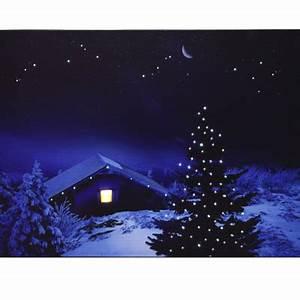 Led Wandbilder Shop : led leinwandbild dekoration weihnachtsbild winterbild fensterdeko wandbild neu ebay ~ Markanthonyermac.com Haus und Dekorationen