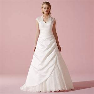 Robe Mariage Dentelle : robe de mariage type princesse en dentelle et satin tess ~ Mglfilm.com Idées de Décoration