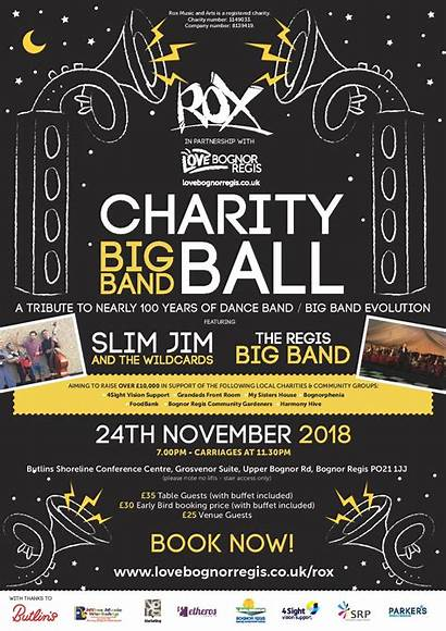 Charity Poster Ball Rox Support 4sight