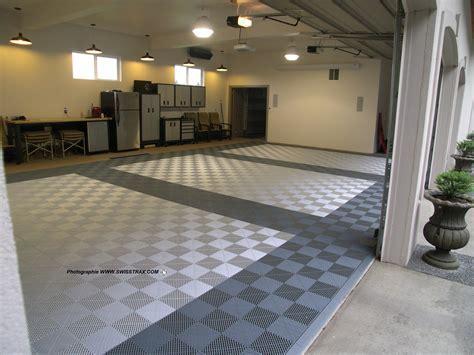 Dalles de sol pour garage particuliers, installation par